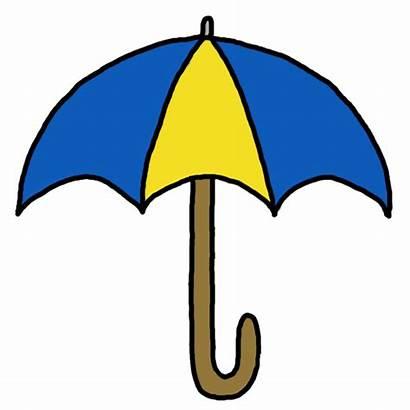 Umbrella Clip Clipart Closed Cliparts Transparent Presentasi