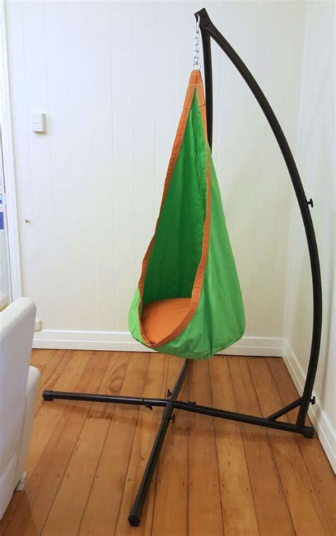 Autism Hammock by Green And Orange Waterproof Sensory Swing With Stand
