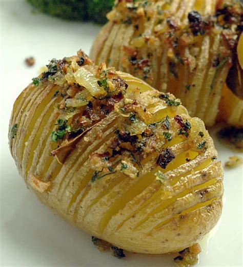 cuisine et terroirs recette hasselback potatis pommes de terre rôties suédoises