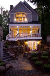top photos ideas for narrow lake lot house plans lakefront cottage home bunch interior design ideas