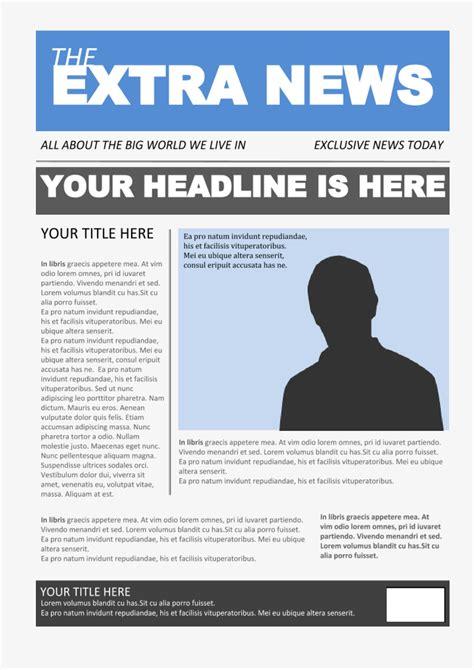 Newspaper Template 4 - Google Docs Templates