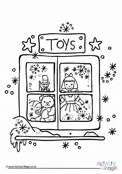 Colouring Toy Christmas Pages Log Become Member
