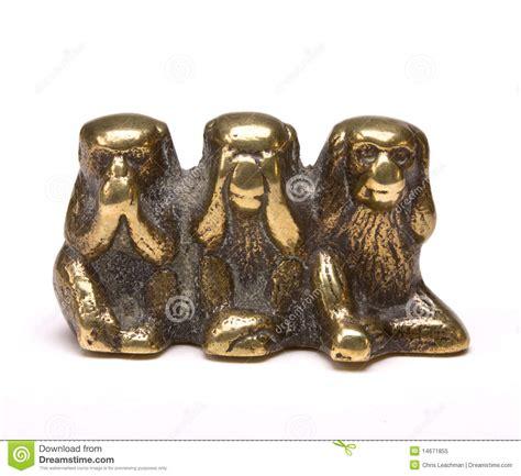 3 wise monkeys royalty free stock 14671855