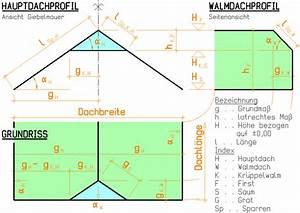 Firsthöhe Berechnen : dachgeometrie kr ppelwalmdach ~ Themetempest.com Abrechnung