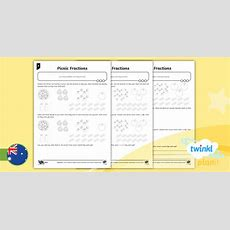 * New * Planit Mathematics Y3 Number And Algebra Fractions And Decimals
