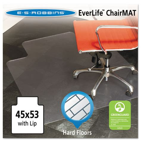 Es Robbins Everlife Chair Mat by Es Robbins 132123 Everlife Chair Mat For Floors