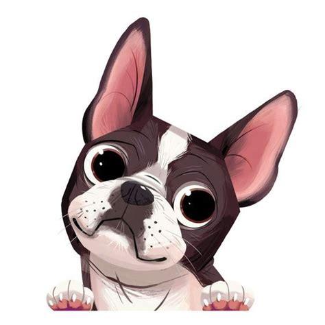 dessin de chien boston terrier les dessins  coloriage