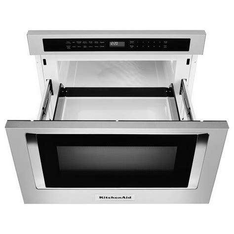 drawer microwave ovens kmbd104gss kitchenaid 24 quot 1 2 cu ft 950w counter