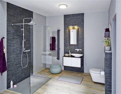 Badezimmer Fliesen Grau Und Anthrazit