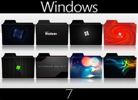Windows 7 Folder Icon Pack By Smokeu On Deviantart