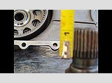 BMW X5 TRANSFER CASE FRONT DRIVE SHAFT SPLINE REPAIR 1