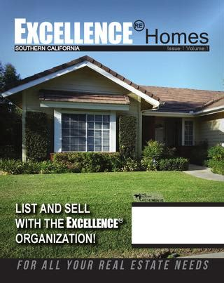 excellence homes magazine edicion   excellence real