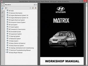 Hyundai Matrix Service Manual    Repair Manual