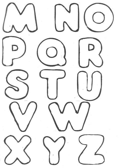 moldes letras para mural imagui