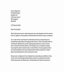 10 retail cover letter templates to download for free With cover letter template download