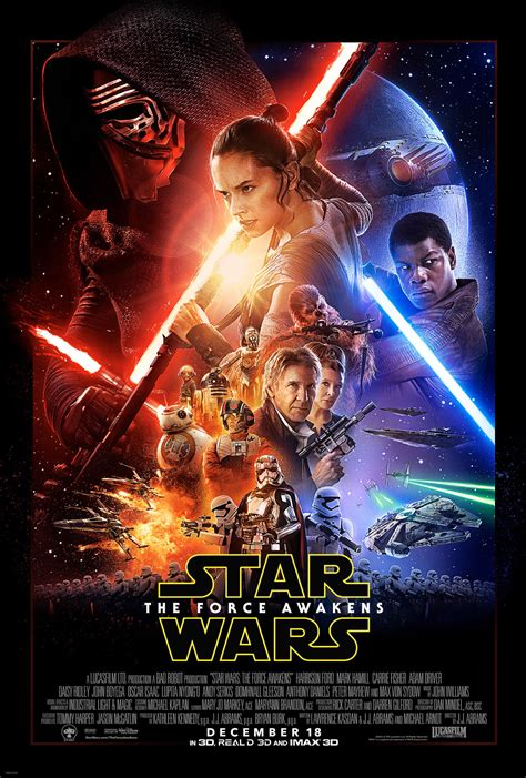 Why The Star Wars The Force Awakens Poster Is