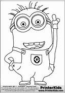 Despicableme2 Minion Coloring Page    Despicable Me 2 Minions Drawing
