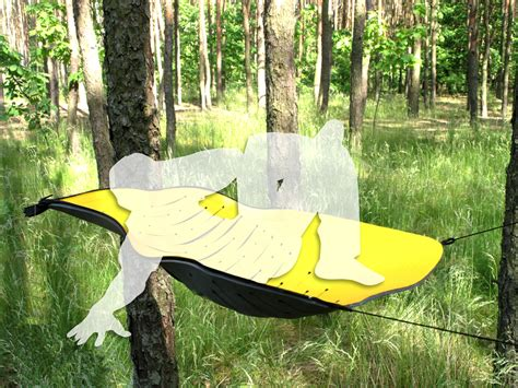 Caccoon Hammock by Prototypes Hanging Tent Rolled Foam Hammock Gearjunkie