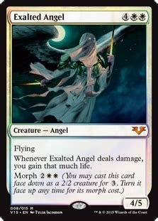 exalted angel from the vault angels gatherer magic