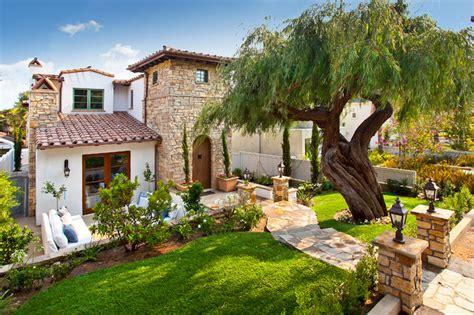 Italian Villa Mediterranean Landscape Los Angeles