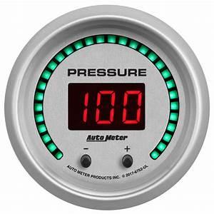 Auto Meter Elite Digital Series Pressure Gauge