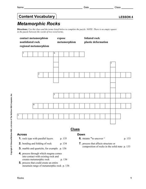 Igneous Rocks Worksheet Pdf  Free Worksheet Printables