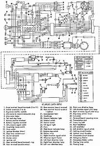 Wiring Schematic Of 1973 1974 Harley Davidson Fl Flh