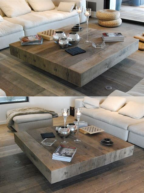 50 Photos Large Low Level Coffee Tables  Coffee Table Ideas