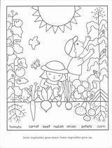 Coloring Pages Gardening Garden Vegetables Soil Vegetable Printable Preschool Sheets Gardens Seeds Children Bible Flower Adult Bestcoloringpagesforkids Spring Childrens Tools sketch template