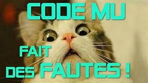 Nombre De Fautes Code : code mu fait des fautes youtube ~ Medecine-chirurgie-esthetiques.com Avis de Voitures