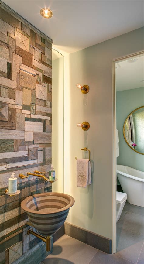 Bathroom Wall Covering Ideas by 45 Jaw Dropping Wall Covering Ideas For Your Home Digsdigs