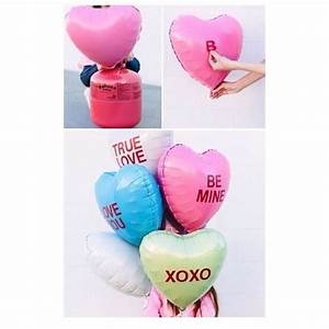 these are so cute all you need is heartshaped balloons With where can you buy letter balloons