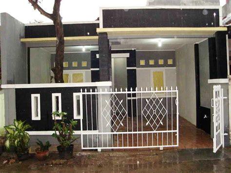 contoh model desain pagar rumah minimalis modern terbaru