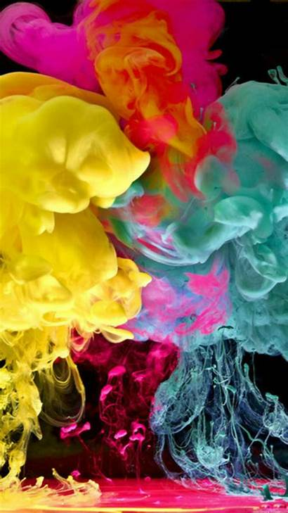 Smoke Colorful Cool Colored Wallpapers Backgrounds Galaxy