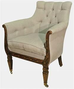 Regency, Library, Chair