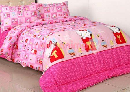 Sprei Katun Anak Ukuran 200x200 grosir sprei kintakun murah bed cover kintakun grosir
