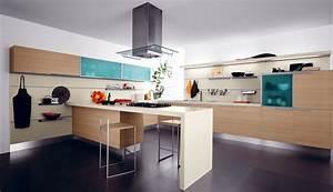 Deckenlampe Küche Modern : kochinsel in der k che modern design ideen ideen top ~ Frokenaadalensverden.com Haus und Dekorationen