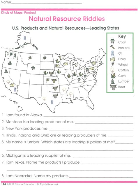 map scale worksheet 3rd grade worksheets for all