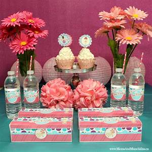 Spa Party Ideas & Printables - Moms & Munchkins