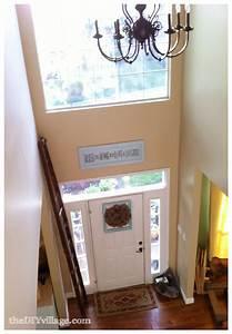 Home Tour - Upstairs Hallway & Nook - the DIY village