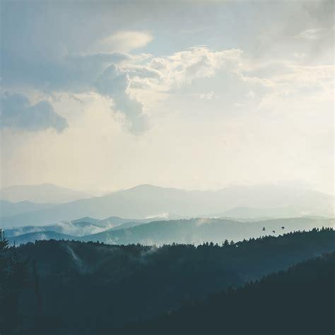 nn mountain morning sky bird blue nature wallpaper