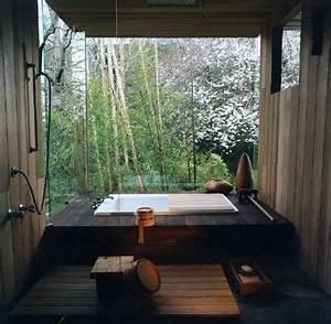 comment faire une salle de bain japonaise les trophees With salle de bain japonaise traditionnelle