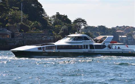 Catamaran Ferry Australia by The Susie O Neill Is A Sydney Supercat Ferry Hd Wallpaper