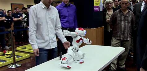 robots run riot   engineering orientation robot
