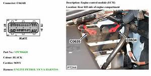 Land Rover Lr3 2008  Which Wires In The Maf Wiring Harness