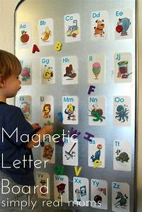 magnetic letter board With magnetic board with alphabet letters