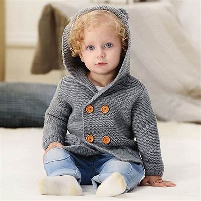 Knitted Clothes Boys Clothing Winter Coat Tops