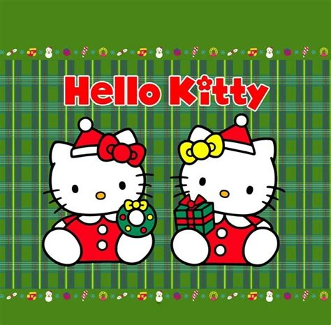 Hello Kitty Christmas Iphone Wallpapers