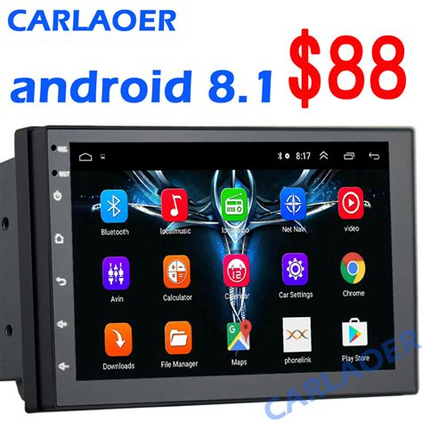 android   din car radio multimedia video player