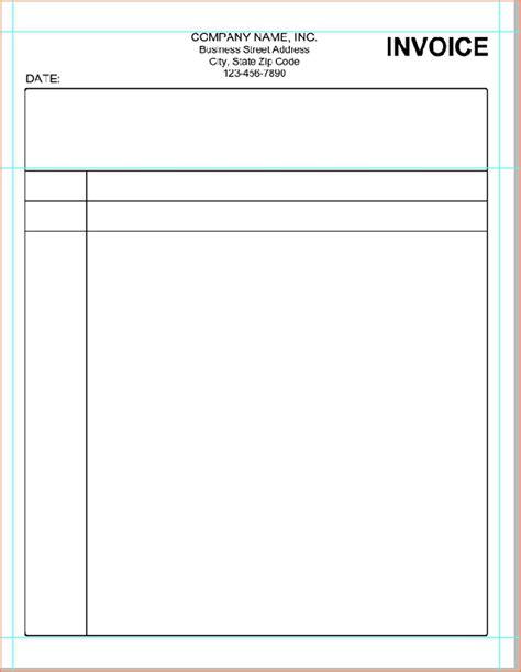 printable billing invoice forms letter bills